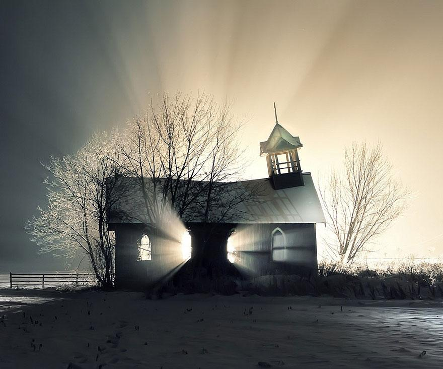 forgotten-places-kai-fagerstrom-church-in-the-snow-canada