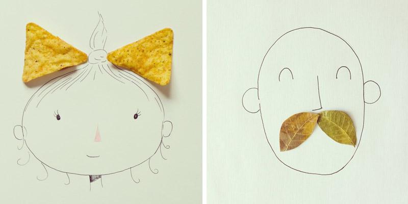 javier-perez-art-doodle-bowtie-mustache