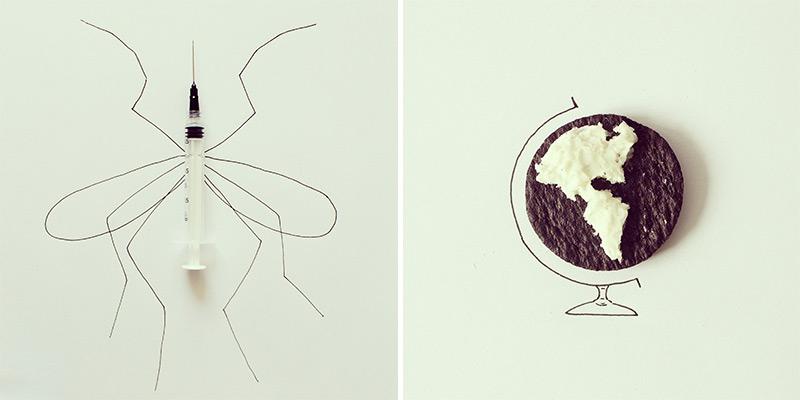 javier-perez-art-doodle-mosquito-globe