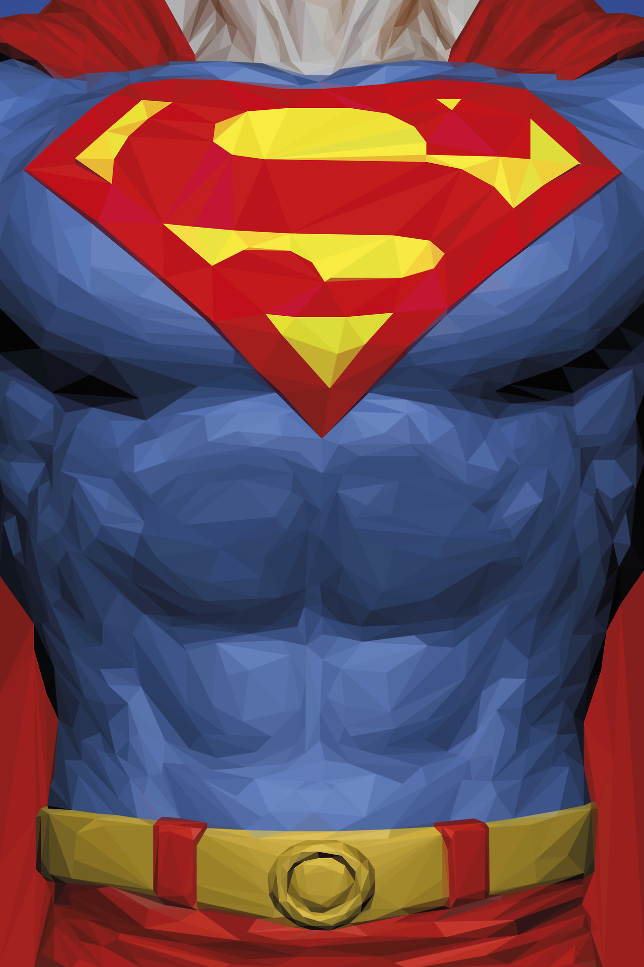 simon-delart-superhero-triangle-illustrations-superman