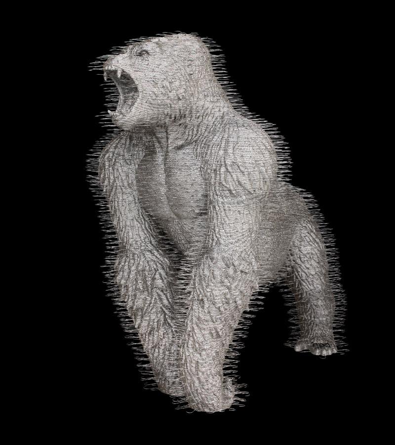 david-mach-coathangers-zurich-gorilla-02