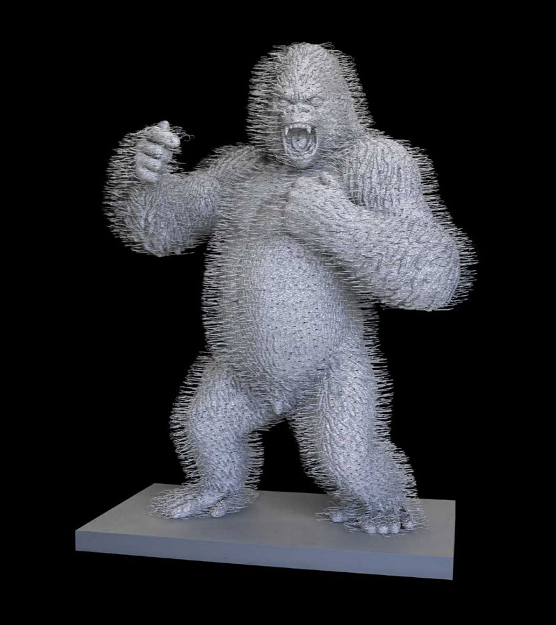 david-mach-coathangers-zurich-gorilla-04