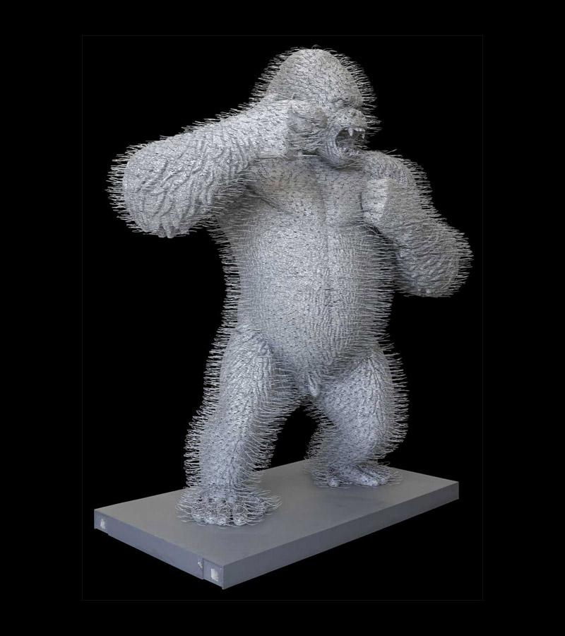 david-mach-coathangers-zurich-gorilla-05