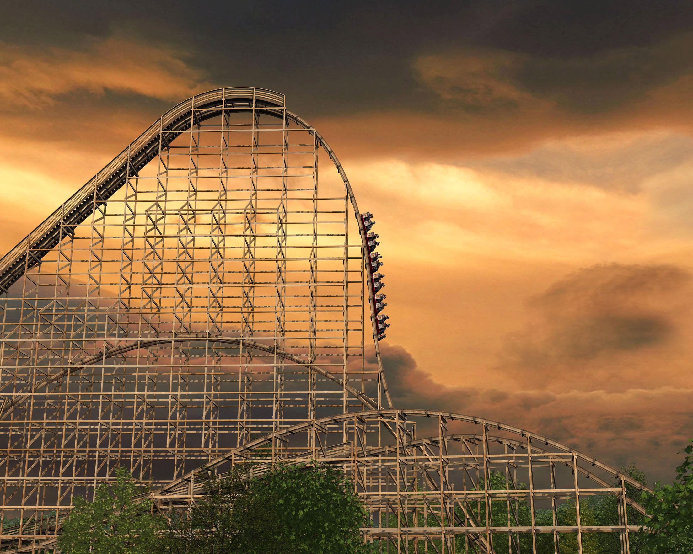 futuristic-attractions-goliath-roller-coaster
