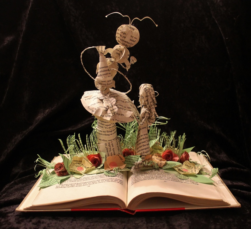 jodi-harvey-brown-book-sculptures-alice-and-caterpillar