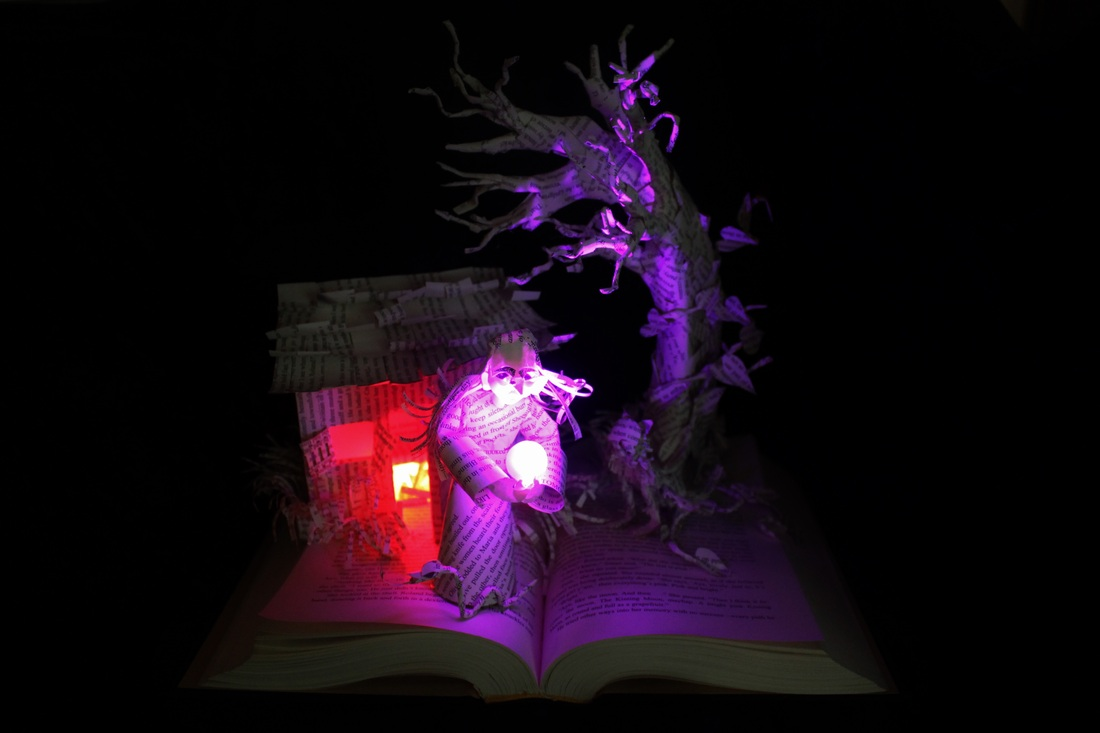 jodi-harvey-brown-book-sculptures-dark-tower