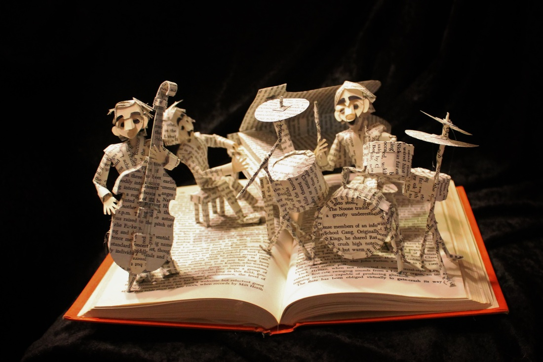 jodi-harvey-brown-book-sculptures-jazz-band