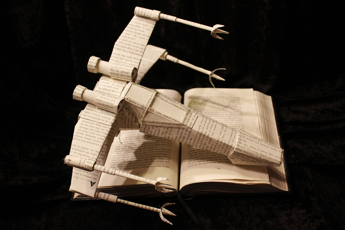 jodi-harvey-brown-book-sculptures-star-wars-x-wing