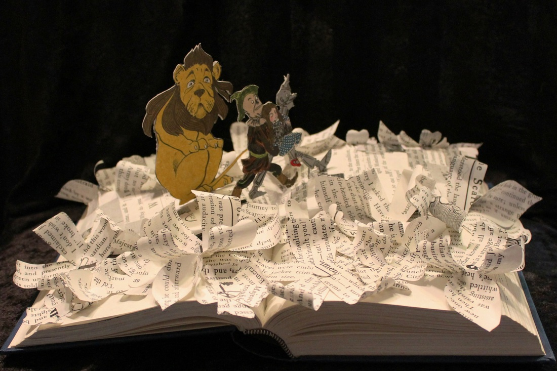 jodi-harvey-brown-book-sculptures-wizard-of-oz