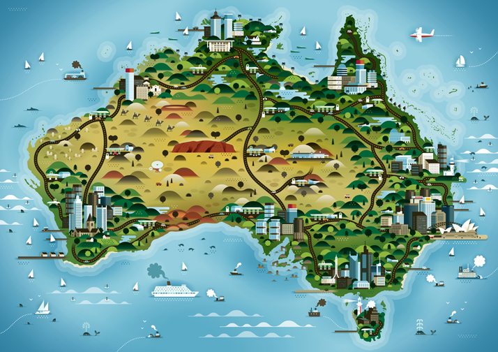 map-illustrations-khuan-ktron-australia
