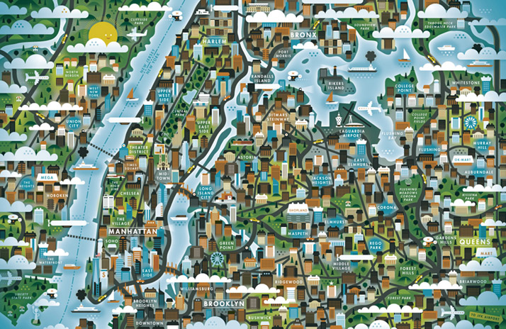 map-illustrations-khuan-ktron-big-apple