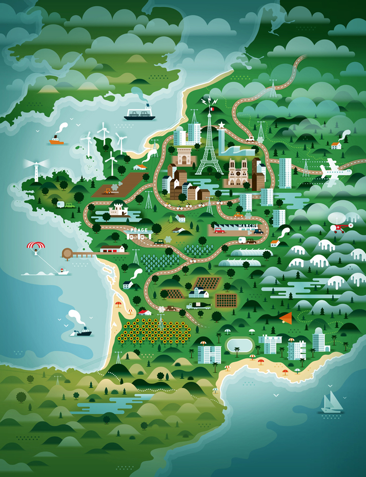 map-illustrations-khuan-ktron-france