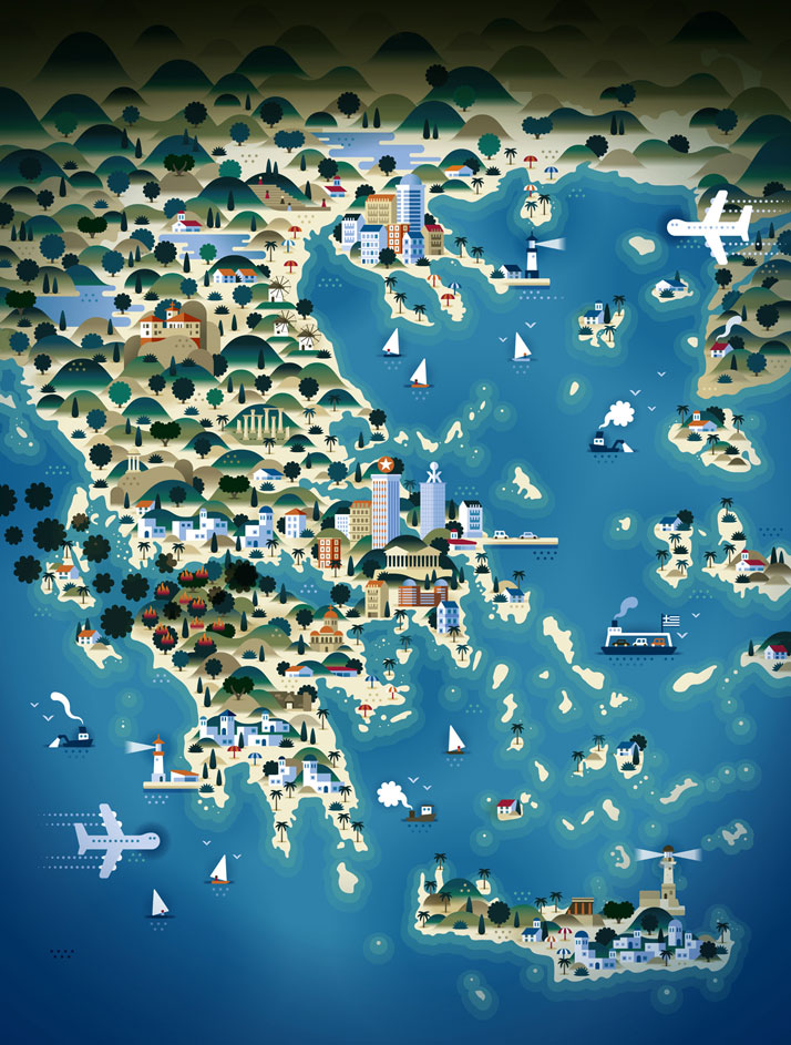 map-illustrations-khuan-ktron-greece