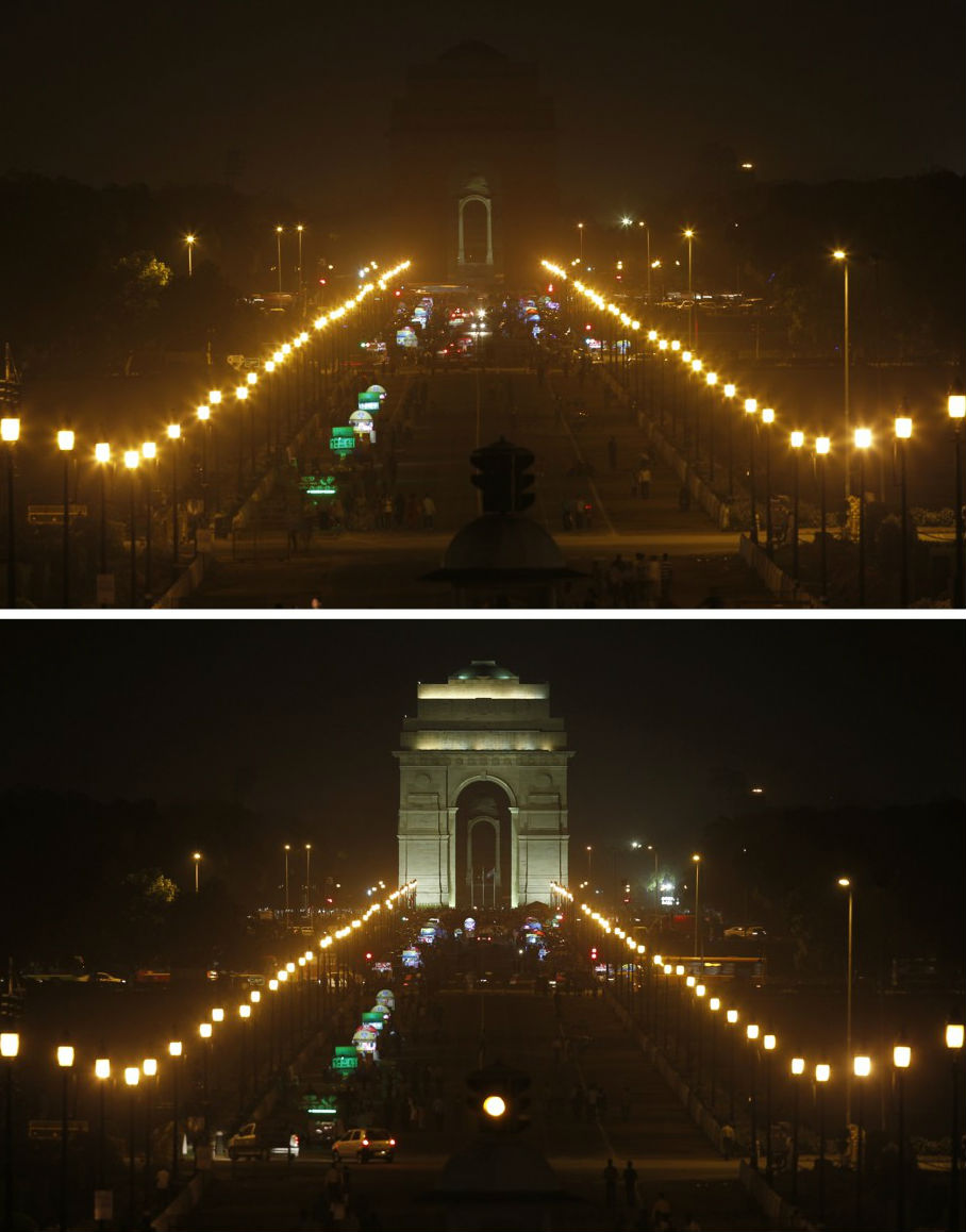 earth-hour-2014-indiagate-newdelhi