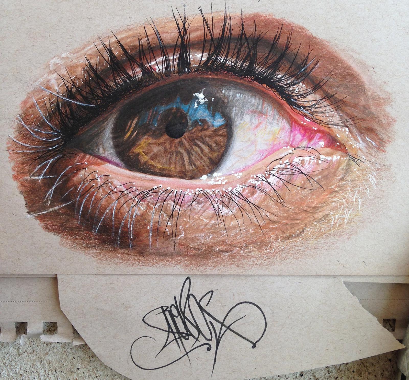 Eye Redosking