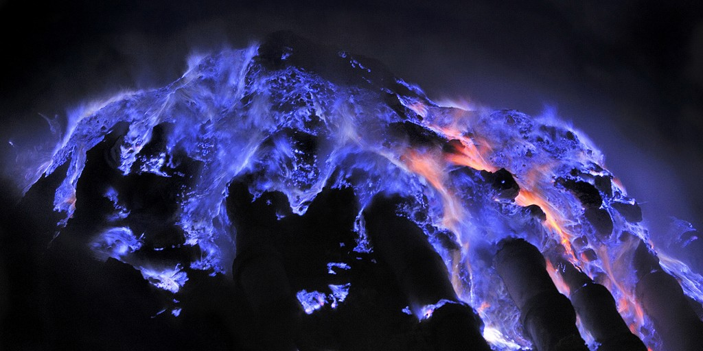The Spectacular Blue 'Lava' of Kawah Ijen
