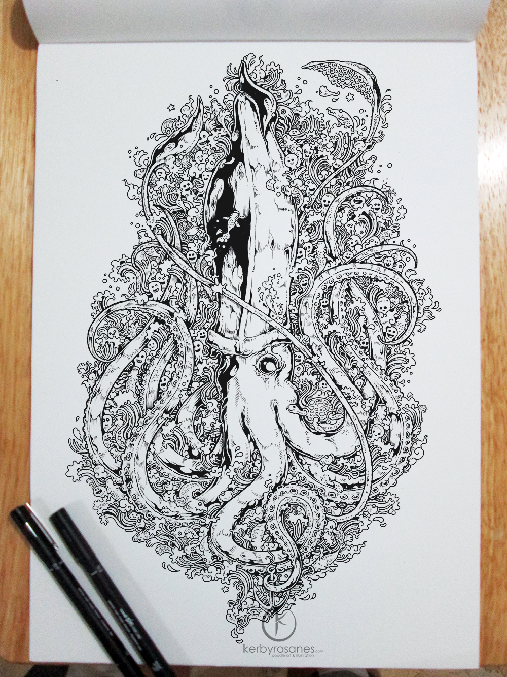 Kerby rosanes doodler by night lost in internet for Kerby rosanes