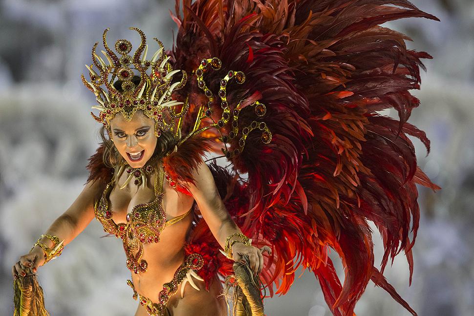 Carnival at the sambadrome in Rio de Janeiro