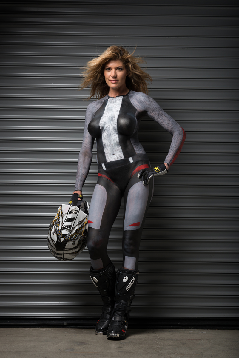 body painting Motorcycle