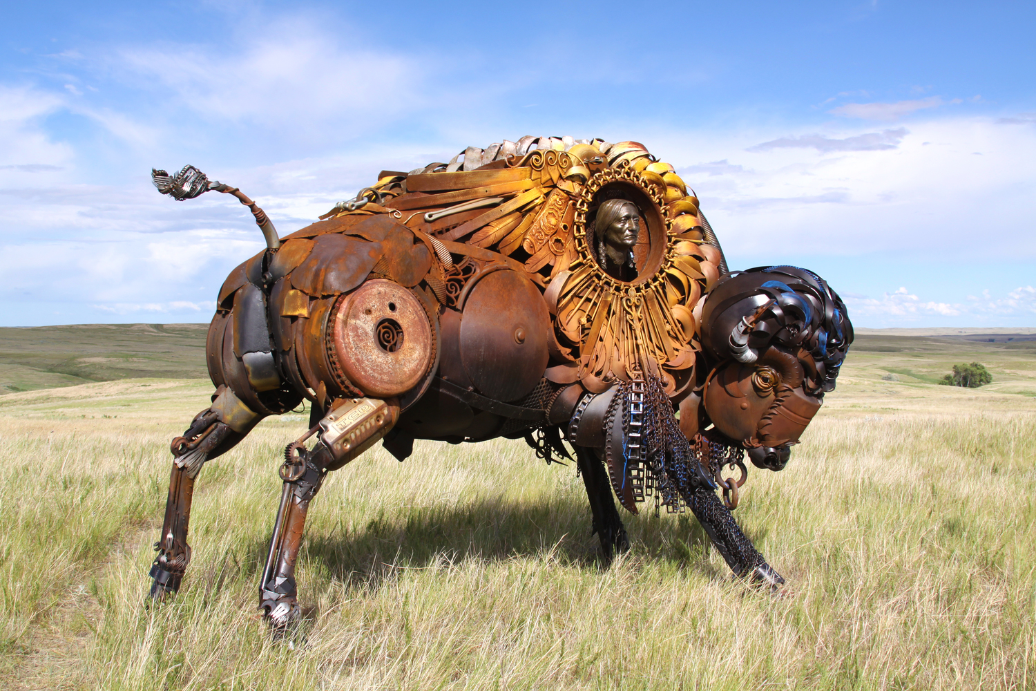 found art scrap metal art Joe brooks iron art found metal artist search main menu joe finds inspiration for his sculptures through the discovery of found or discarded scrap metal.