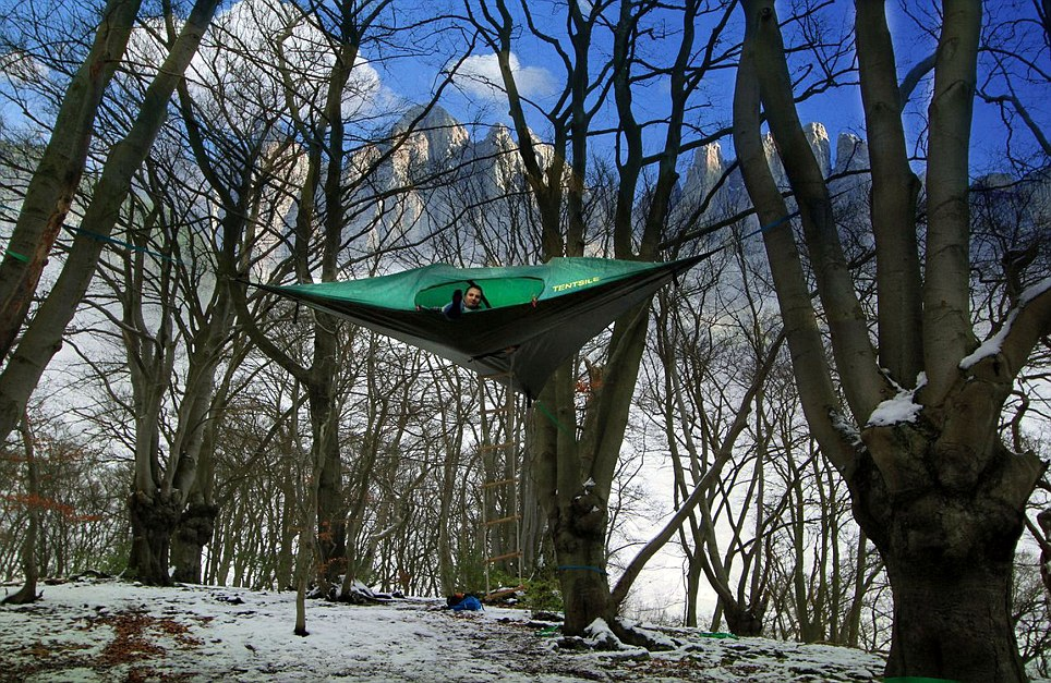 UFO Tents & Sleeping Midair with Tentsile Tree Tents | Lost in Internet