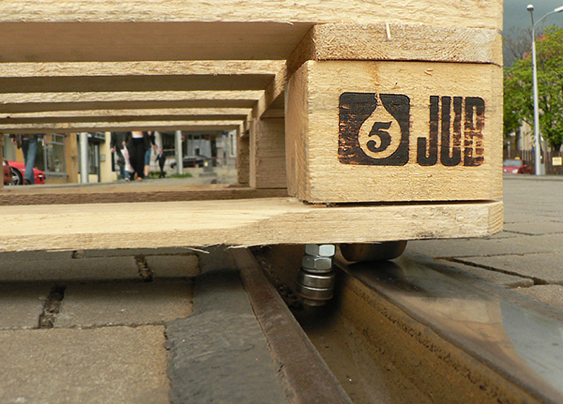 tomas-moravec-wooden-pallet-tram-tracks