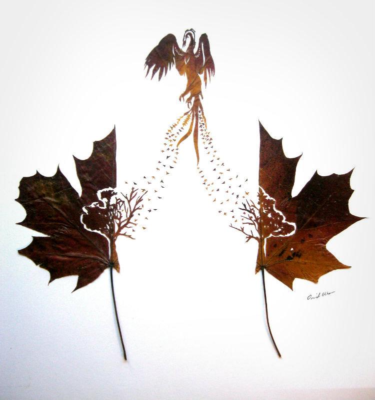 omid-asadi-leaf-art
