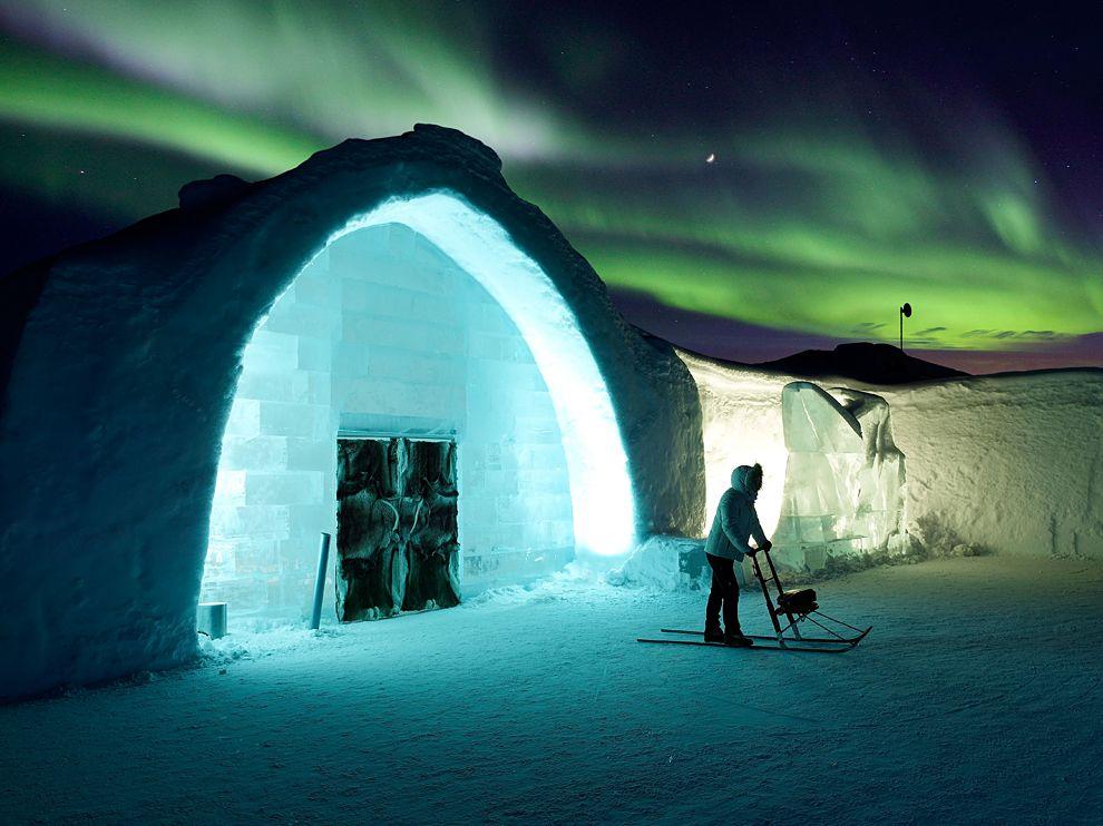 Sweden S Enchanting Ice Hotel Lost In Internet