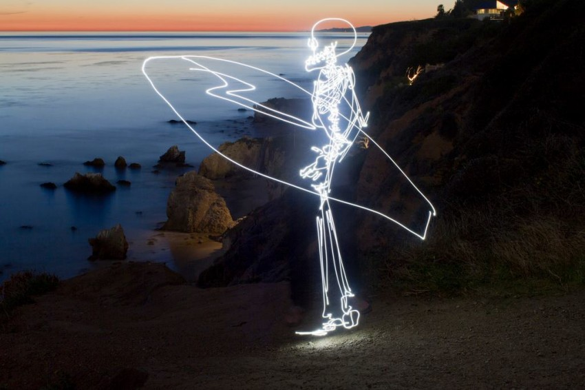 whimsical blue lighting whimsical light painted images by darren pearson lost in internet