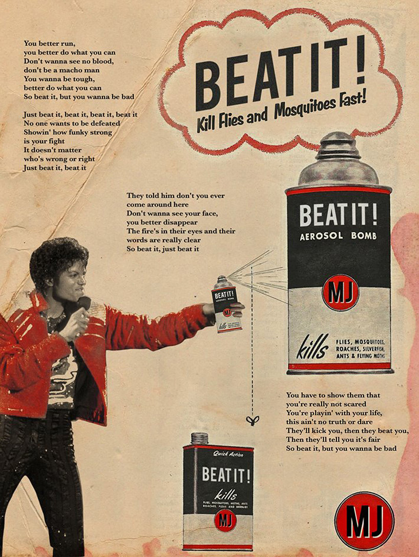 Musical Artists Star in Vintage Ads | Lost in Internet