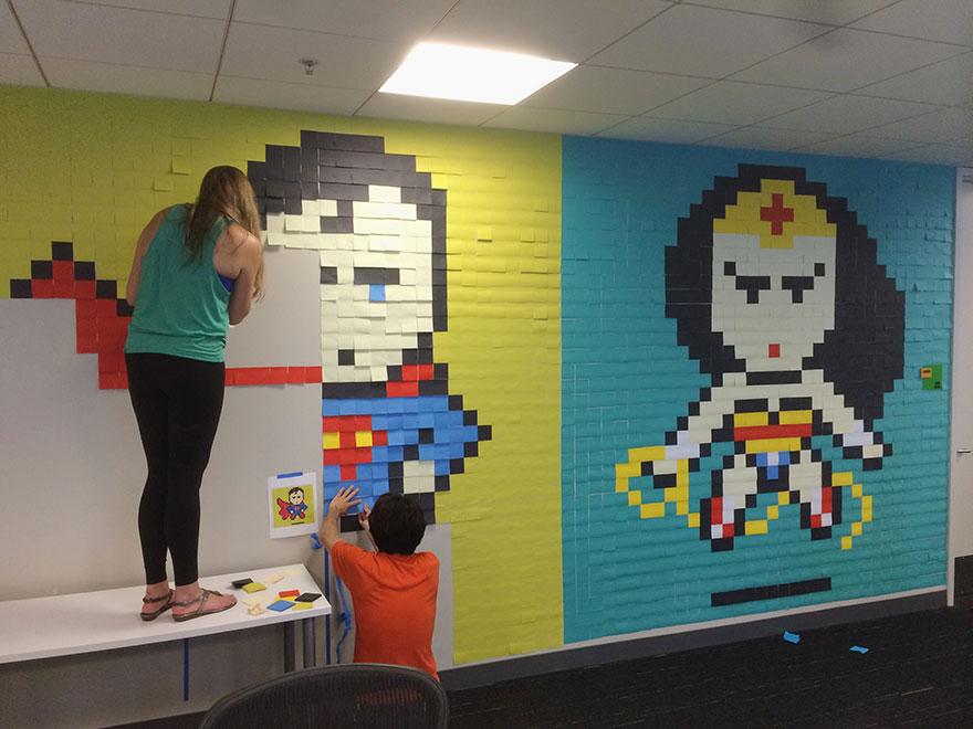office-wall-post-it-superheroes-ben-brucker-04