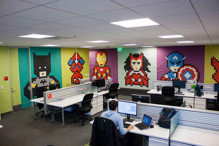 office-wall-post-it-superheroes-ben-brucker-07