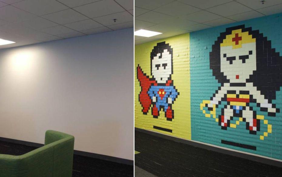 office-wall-post-it-superheroes-ben-brucker-10