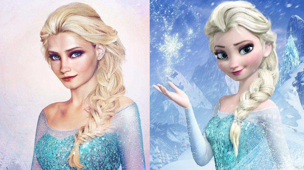 disney_characters_real_life_elsa_frozen