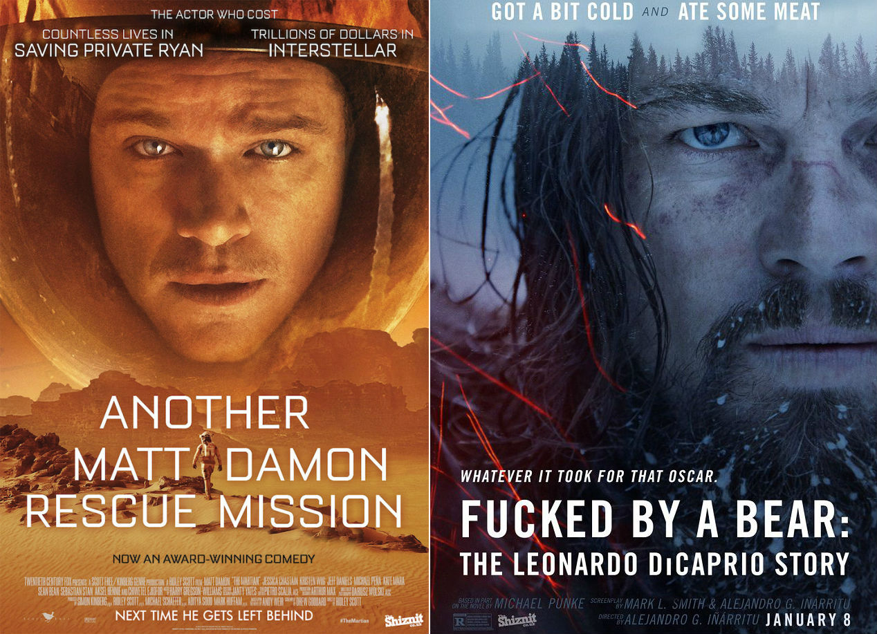 If Movie Posters Told the Honest Truth | Lost in Internet