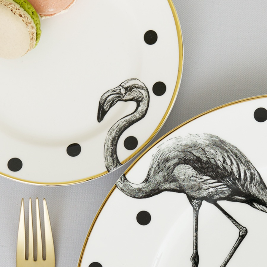 yvonne_ellen_flamingo_plates