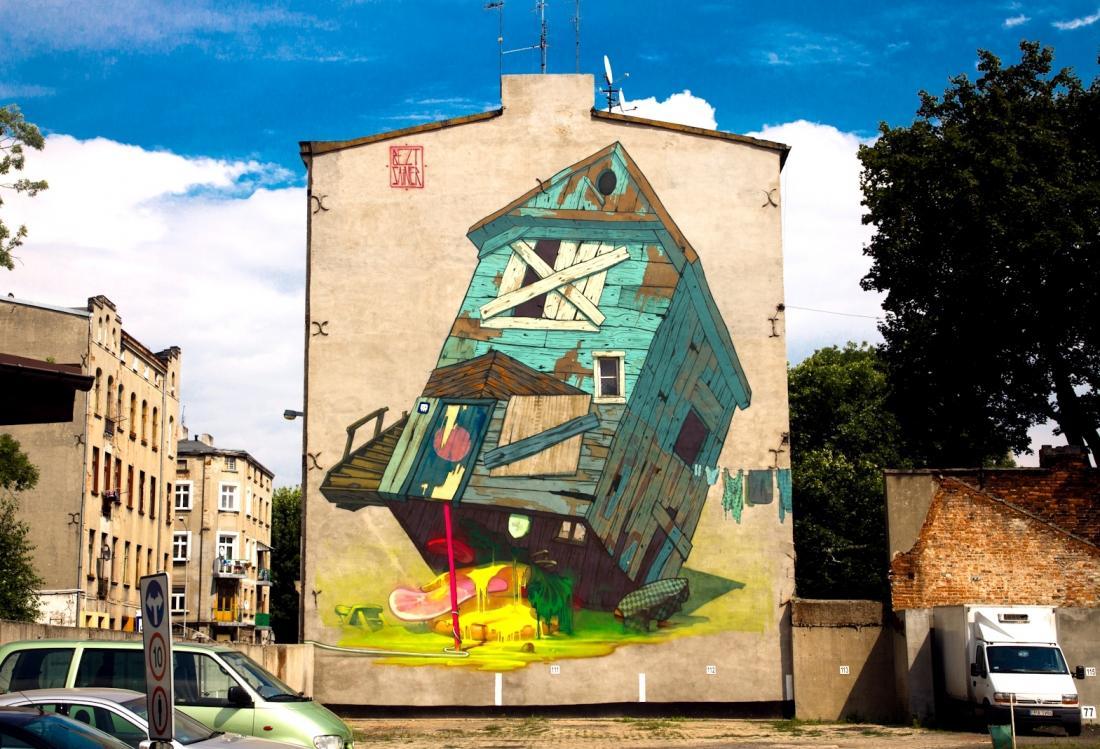 Polish Pair Etam Cru Create Street Sized Street Art Lost